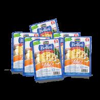 Bollo de Maiz. Bolsa con 6 paquetes de 1lb c/u