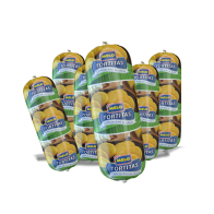 Bolsa de 6 Tortitas de Maiz Nuevo Con Queso Blanco 1lb