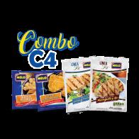 COMBO C-4 / 4 productos variados