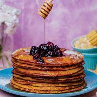 Pancake de Maíz