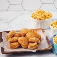 Mac and Cheese con Chicken Nuggets