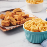 Mac and Chesse con Chicken Nuggets